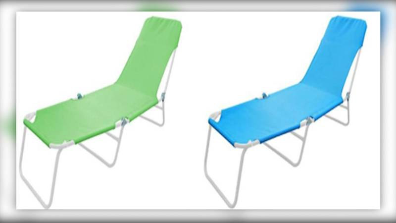 Dollar General recalled about 155,000 True Living Sling Loungers on Wednesday amid consumer...