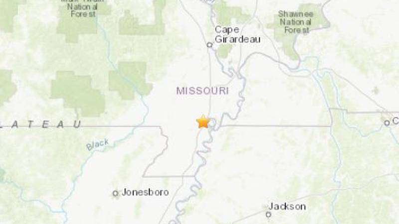 The earthquake happened early Wednesday evening (Source: USGS)
