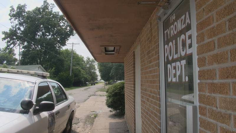In Tyronza, the police department has had a shortage of cars, leaving Anquion Williams, police...