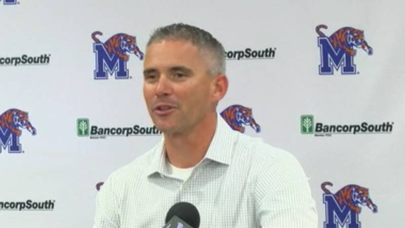 Memphis Tigers football coach Mike Norvell discusses the AAC championship game.