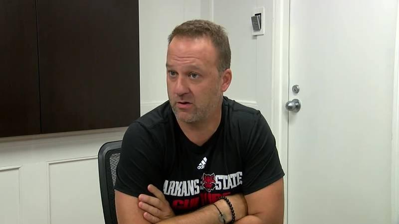 Arkansas State head men's basketball coach