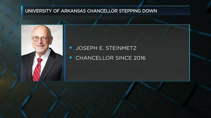 University of Arkansas Chancellor stepping down