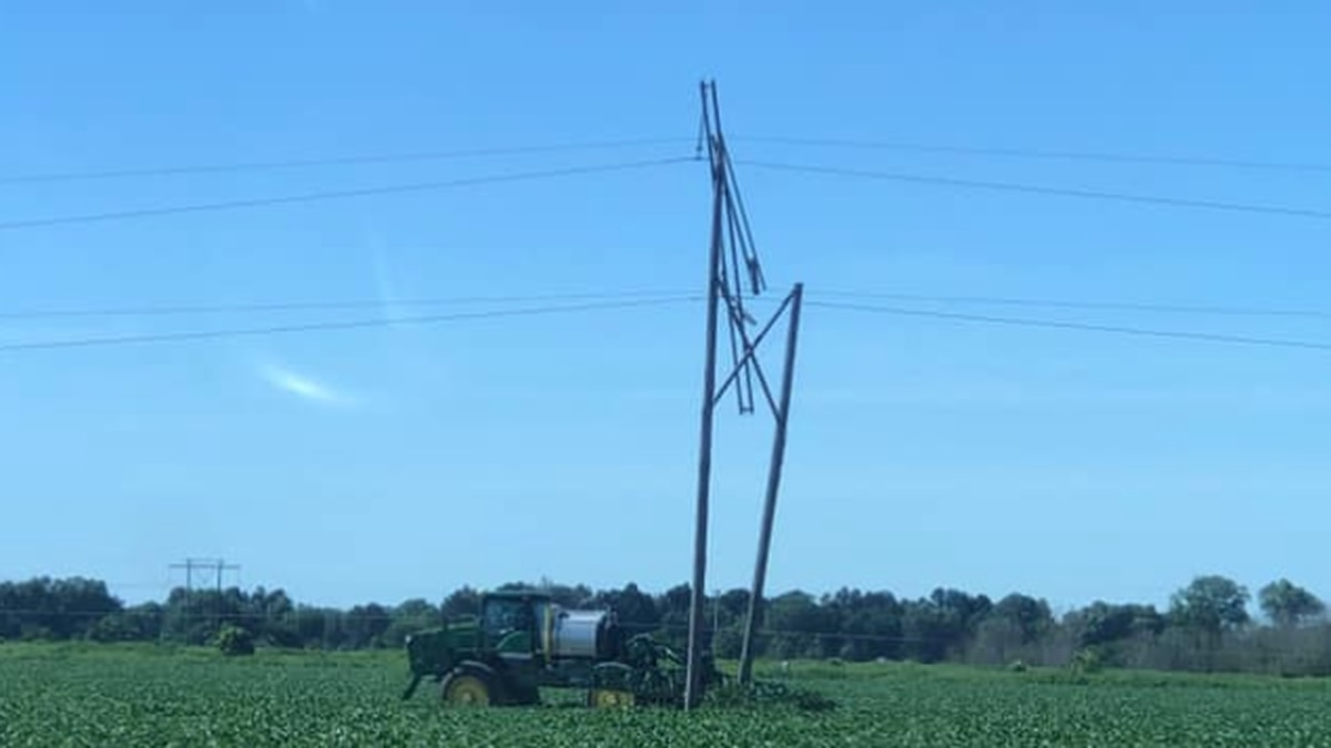 Wynne firefighters responded to an agri field Sunday afternoon after a spray rig backed into...
