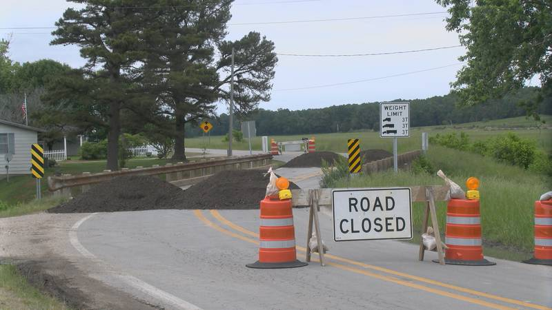 The bridge on Highway 141 in Beech Grove is closed. The Arkansas Department of Transportation...