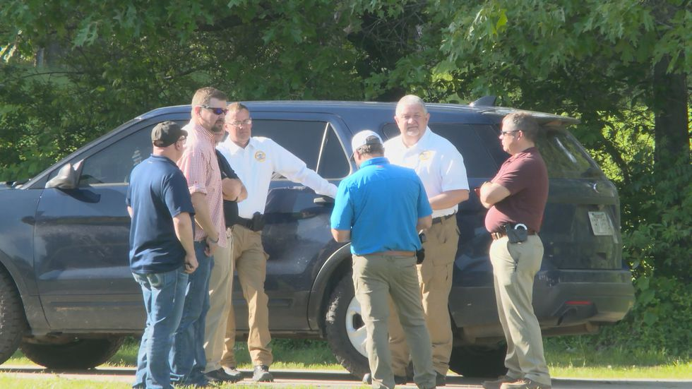 Region 8 News was on Warner Drive in Oak Grove Heights as the FBI and Arkansas State Police...