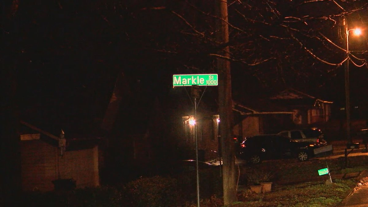 A man fired shots at suspects who broke into a home at the intersection of Markle Street and...