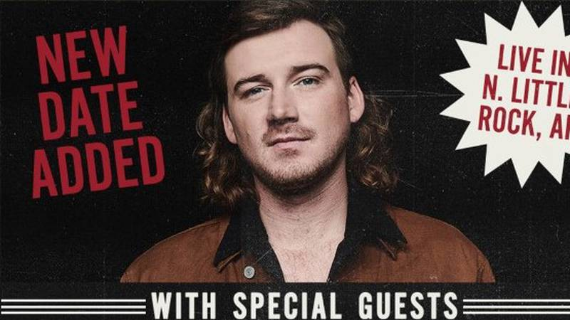 Country music singer Morgan Wallen is adding a second show to his stop in Arkansas.