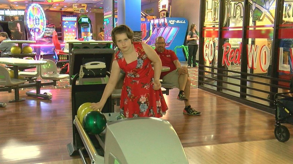 Mercedes, who is in foster care, enjoys bowling as a hobby. (Source: KAIT-TV)