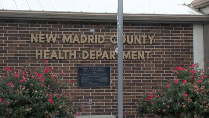 County Health department sees influx in covid19 cases.