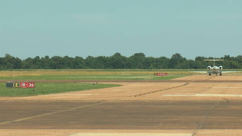 Mayor Charles Snapp hopes to see a larger regional airport in the area.