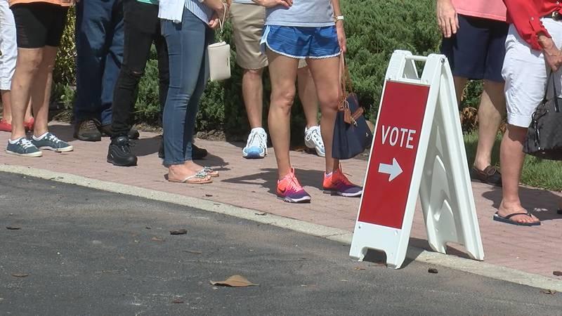Over 66 % of voters in Sarasota County have already voted ahead of Election Day.
