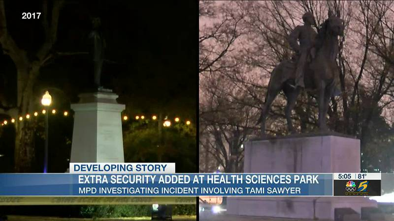 Extra security added at Health Sciences Park