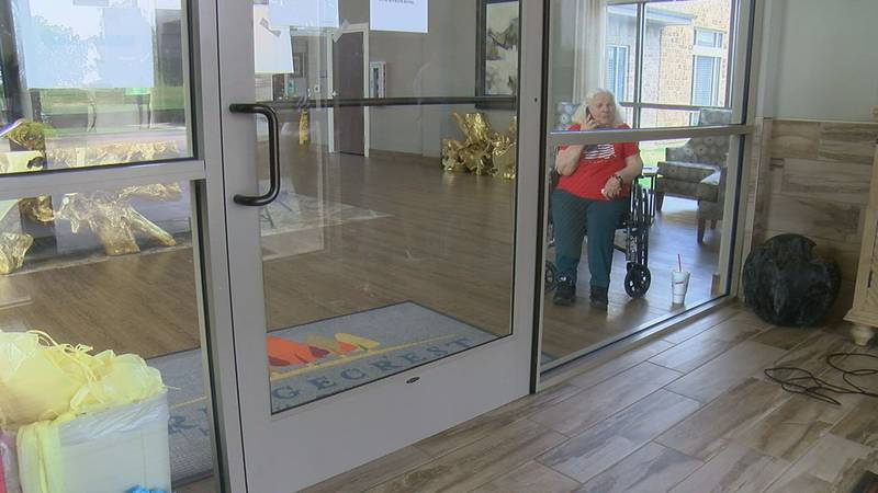 McEntire is a 98-year-old resident at Ridgecrest Health and Rehabilitation.