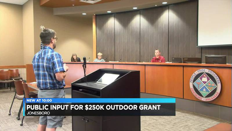Outdoor grant to help Jonesboro with quality of life concerns
