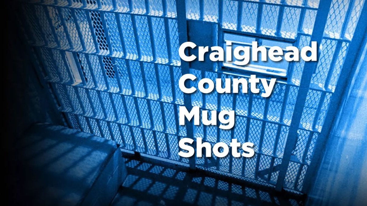 A photo gallery of mug shots from the Craighead County Sheriff's Office.