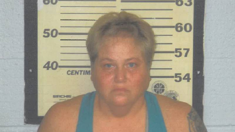 Jennifer S. Newton, 45, was charged with felony stealing. (Source: New Madrid County Sheriff's...