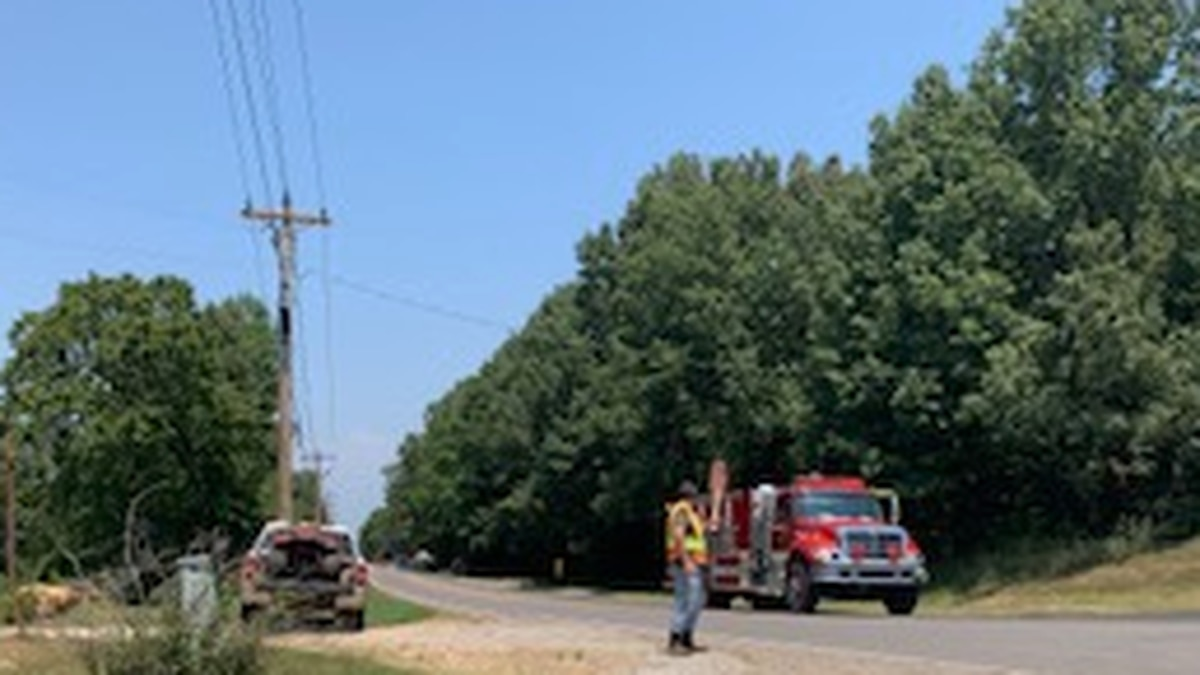 Emergency crews worked to reroute traffic Saturday afternoon after a crash on Highway 141 north...