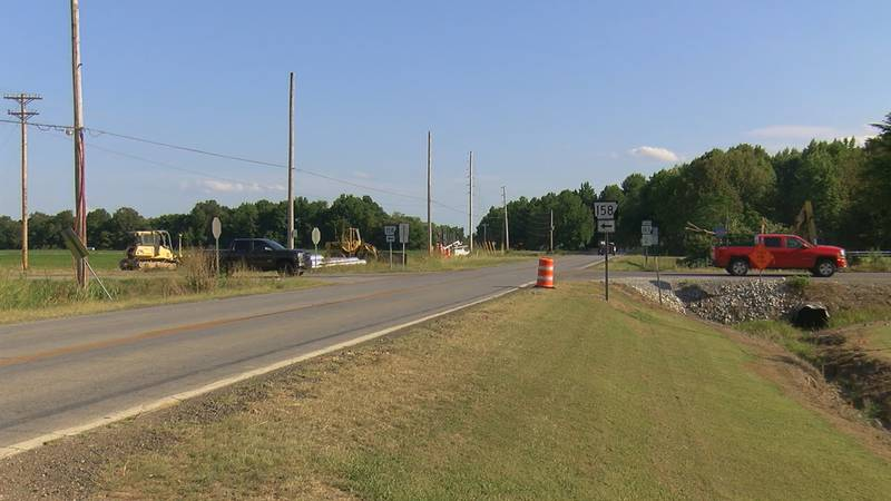 A new Jonesboro roundabout is up and running at the intersection of East Lawson Road and...