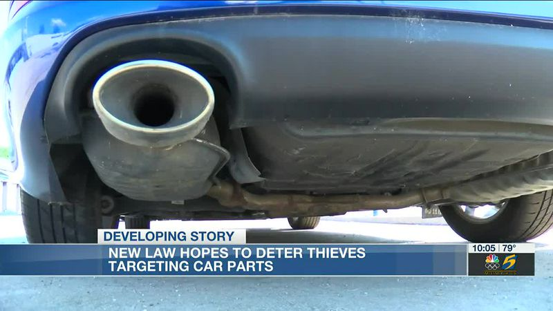 New law aids in prosecution of catalytic converter thieves