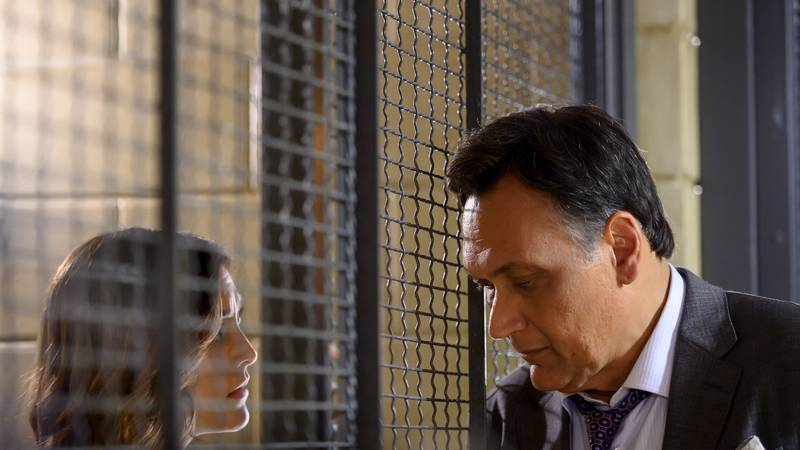 """BLUFF CITY LAW -- """"Perfect Day"""" Episode 110 -- Pictured: (l-r) Caitlin McGee as Sydney Strait,..."""