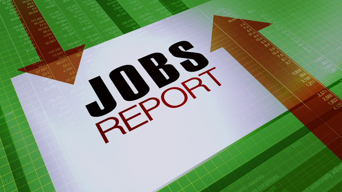 The latest jobs report has been released.