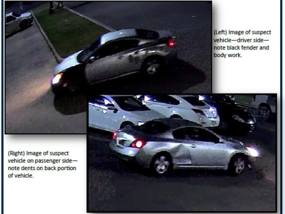 Texarkana Police are looking for this vehicle that was allegedly used in a shooting on Sept....