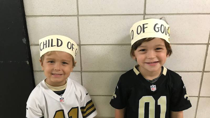 St. Louis King of France showed support for a Saints player fined for wearing a headband that...