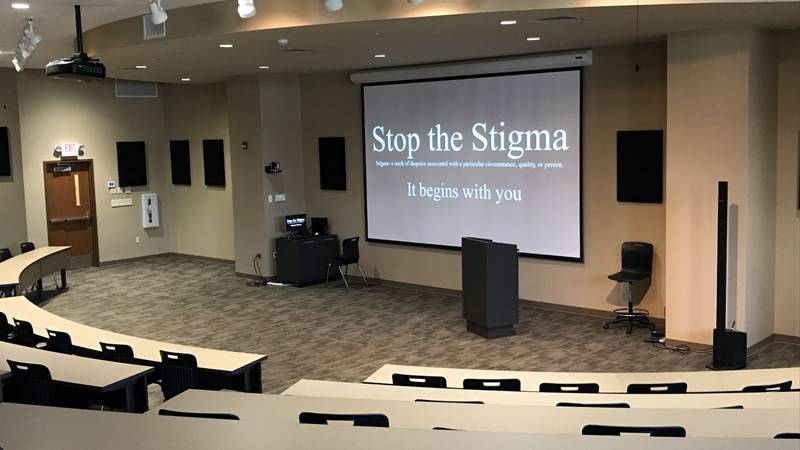 The focus of the Poplar Bluff event was to put an end to the stigma by starting a conversation...