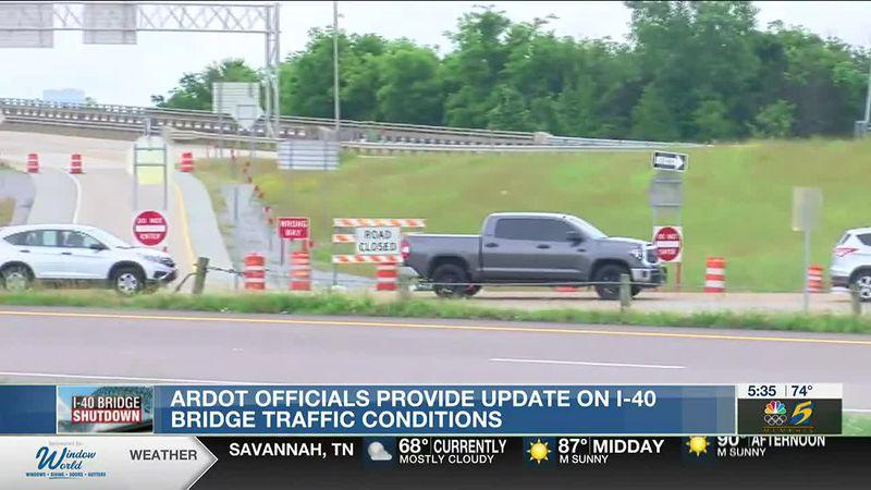 I-40 traffic flow