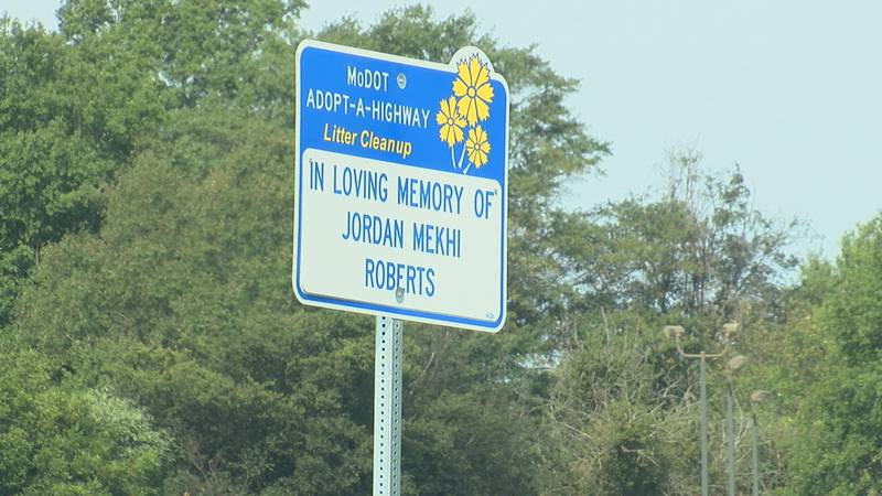 The cleanup of Highway 412 was in honor of Jordan Roberts, who was shot and killed at 11-years...