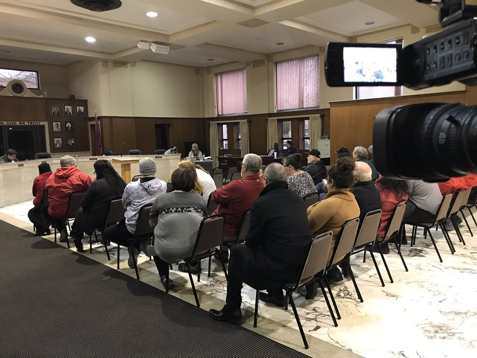 Community gathers with Osceola mayor and city council Wednesday night to discuss $980,000...