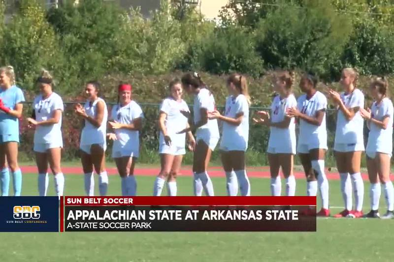 Red Wolves improve to 9-4-1, 6-1-1 in Sun Belt play.