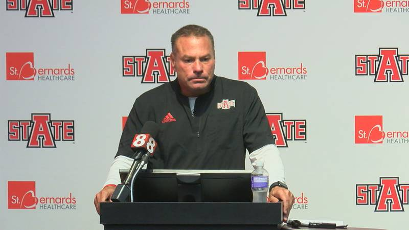 Red Wolves continue to prepare for season opener September 4.