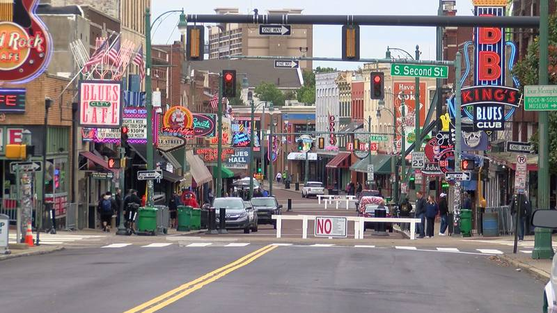 Beale Street is expected to be quite busy for Satuday's events. (Source: WMC)