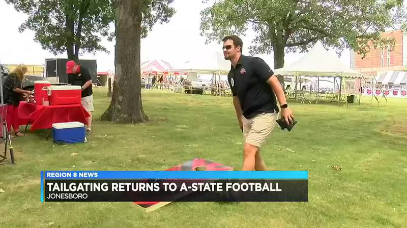 Tailgating returns to A-State football