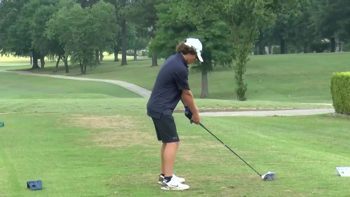 Top golfers in NEA competed Thursday in Paragould.