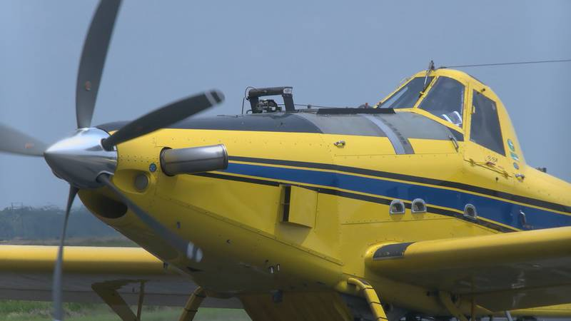 After at least three crop-duster crashes in the last month with one deadly. Region 8 News...