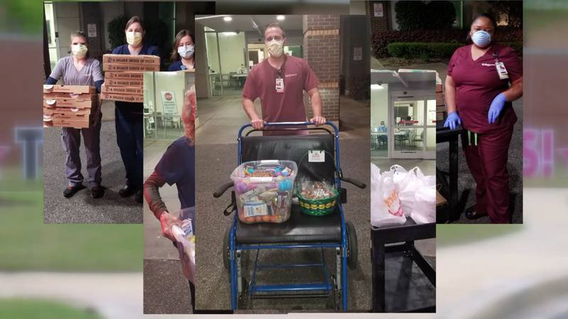 Memphis woman delivers meals from the heart to healthcare workers