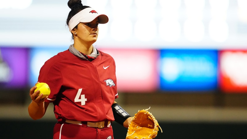 Mary Haff throws a complete game as Arkansas beats LSU 1-0