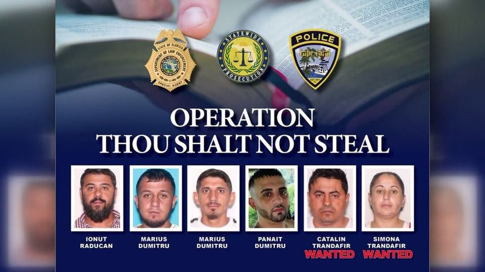 Four suspects – identified as Ionut Raducan, Panait Dumitru and two named Marius Dumitru – are...