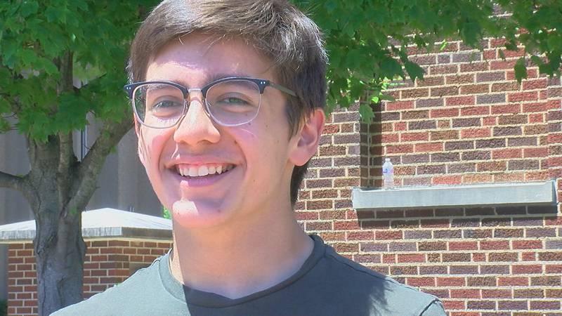 Dillinger Carr, 11th-grader, uses his social media platform, 'Dilly News,' to bring awareness...