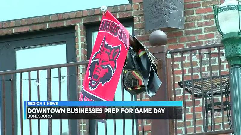 Downtown businesses prep for game day