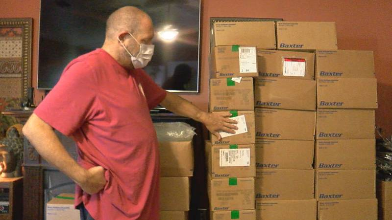 A Jonesboro man recently received a life-changing gift, and now he's hoping to help others...