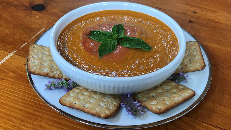 Chilled Creole Tomato Soup