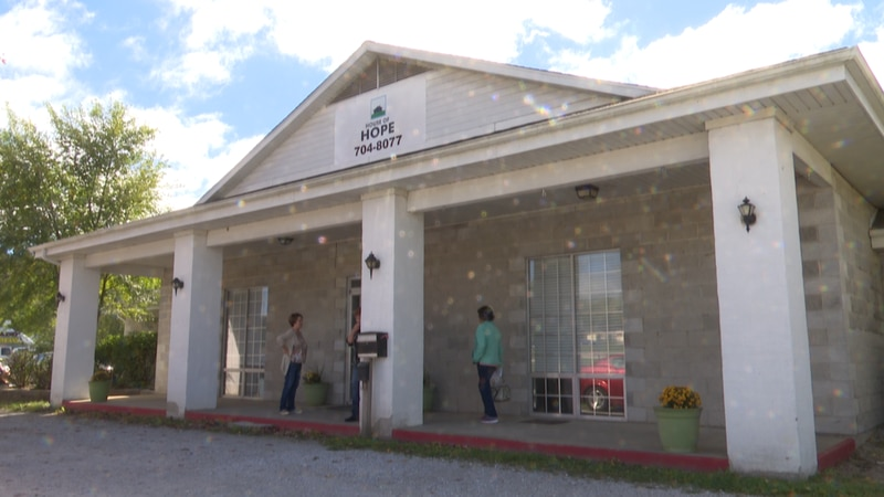 Harrison House of Hope is the only support day-center for homeless and jobless in Harrison.