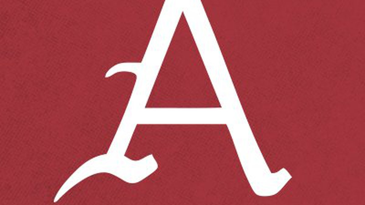Arkansas baseball logo