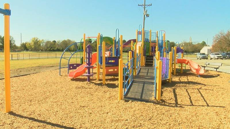 Ribbon cutting held for new playground at Nettleton STEAM