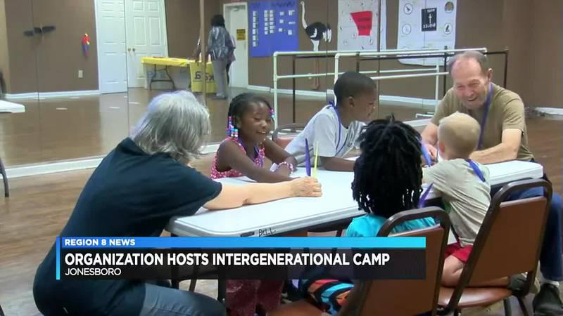 Organization hosts intergenerational camp