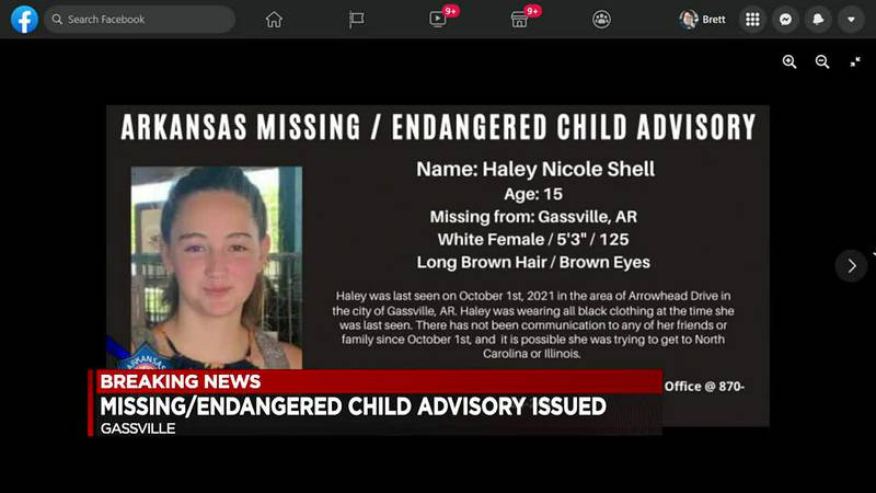 Arkansas State Police search for endangered teen