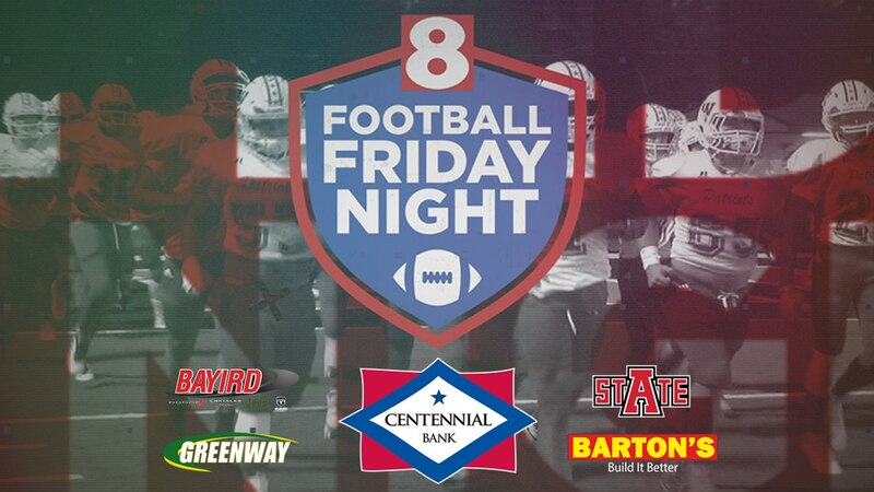 Football Friday Night airs at 10:15pm on KAIT, kait8.com, & on the Region 8 News app